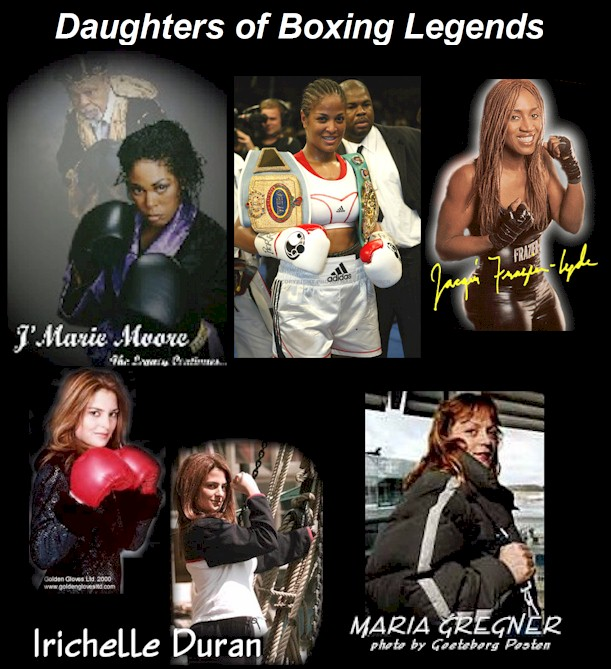 Daughters of boxing legends