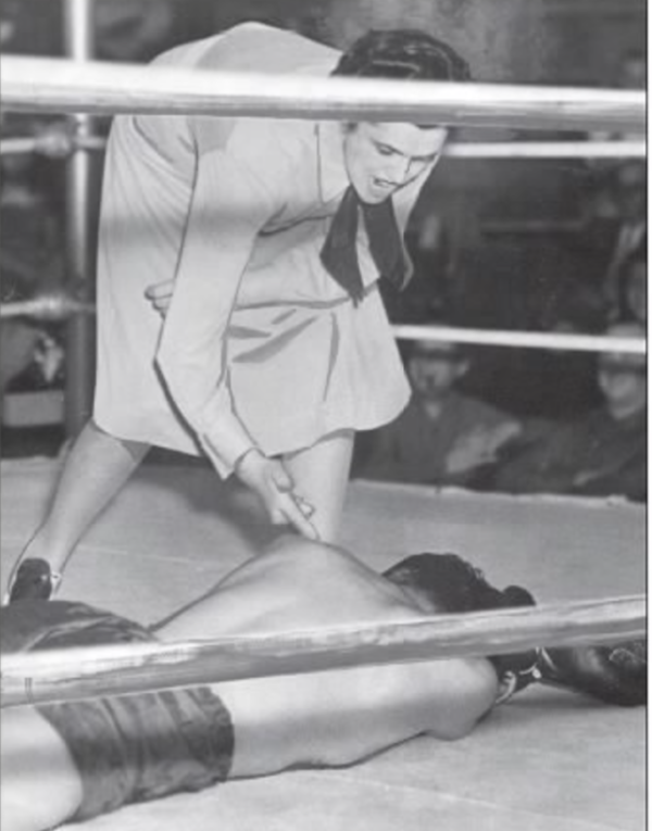 Belle Martell First Female Boxing Referee | Women Boxing Archive Network